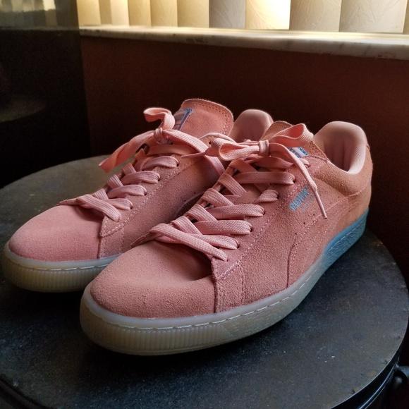 49a66a9c Puma Shoes   X Pink Dolphin Collaborationpinkblue95   Poshmark
